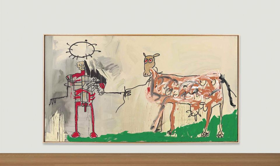 Christie's sued over non-payment for Jean- Michel Basquiat's The Field Next to the Other Road
