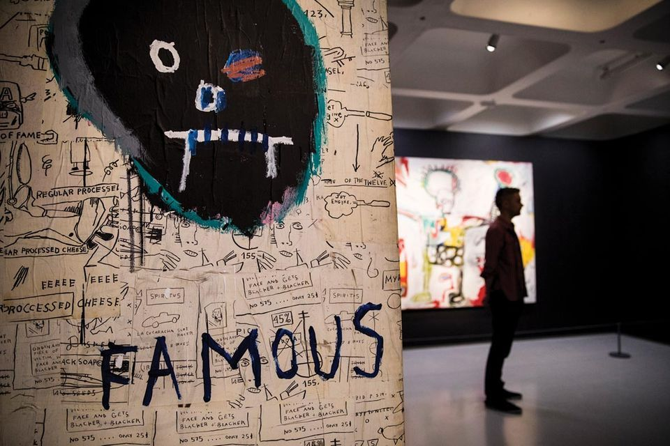 Jean-Michel Basquiat's Famous (1982) at Barbican Art Gallery