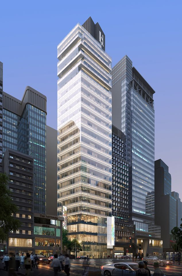 The new H Queens development, where Pace will open a second, larger Hong Kong gallery in March 2018