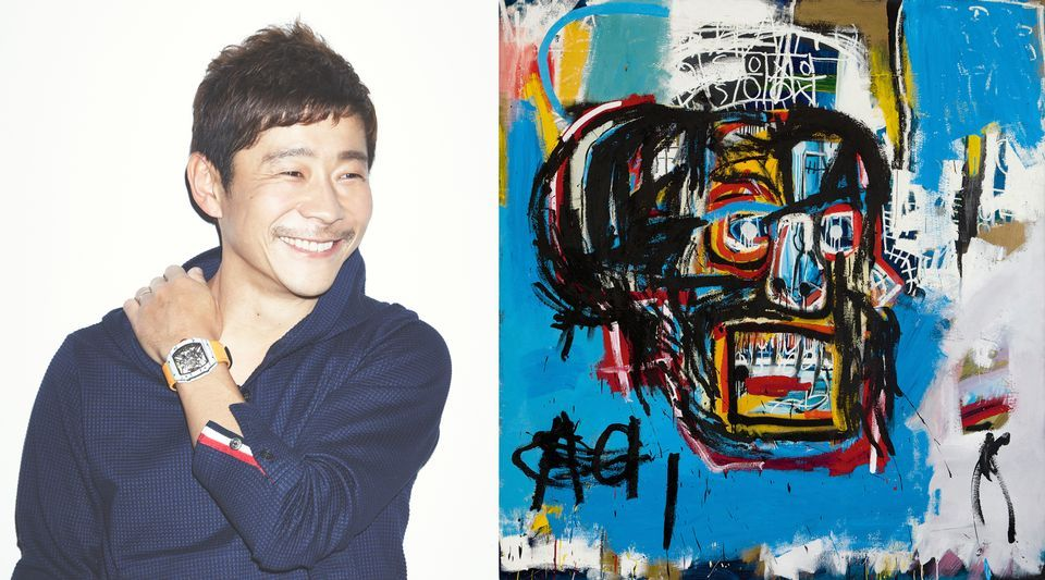 Jean-Michel Basquiat's Untitled (1982) sold to Yusaku Maezawa earlier this year