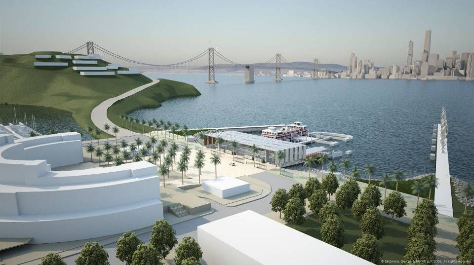 The Treasure Island development project