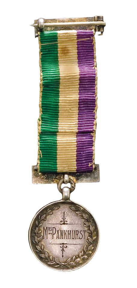 The Holloway medal awarded to Emmeline Pankhurst will go on show at Westminster Hall
