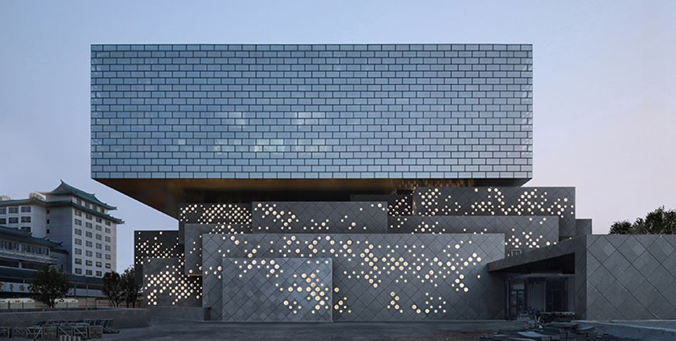 The new China Guardian Art Center in Beijing, designed by Büro Ole Scheeren