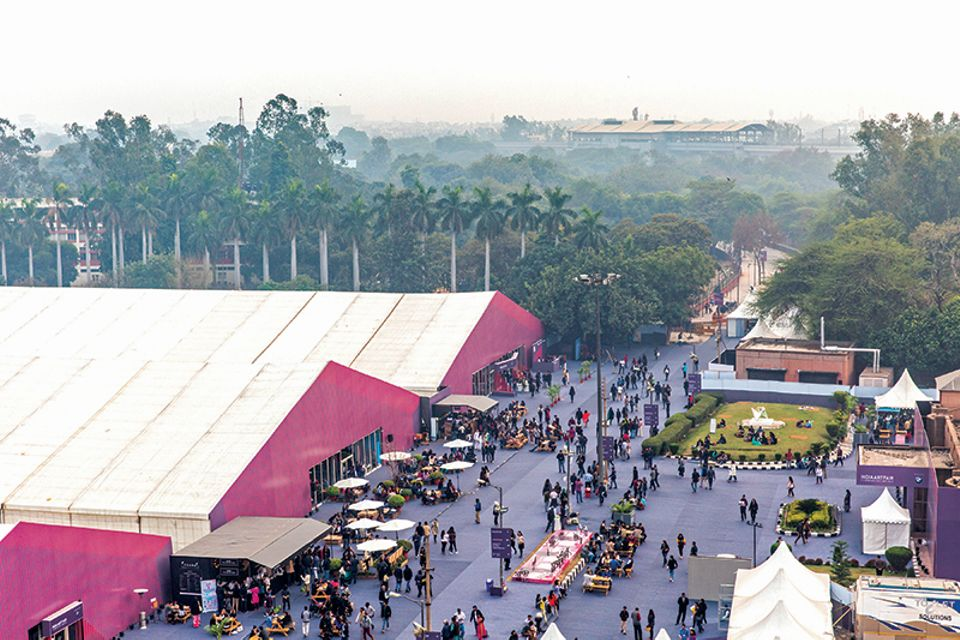 The thriving India Art Fair attracted more than 90,000 visitors last year