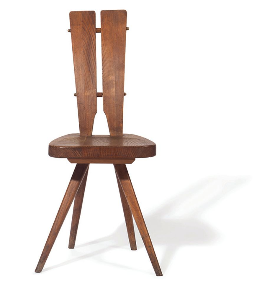 Side chair by Carlo Mollino