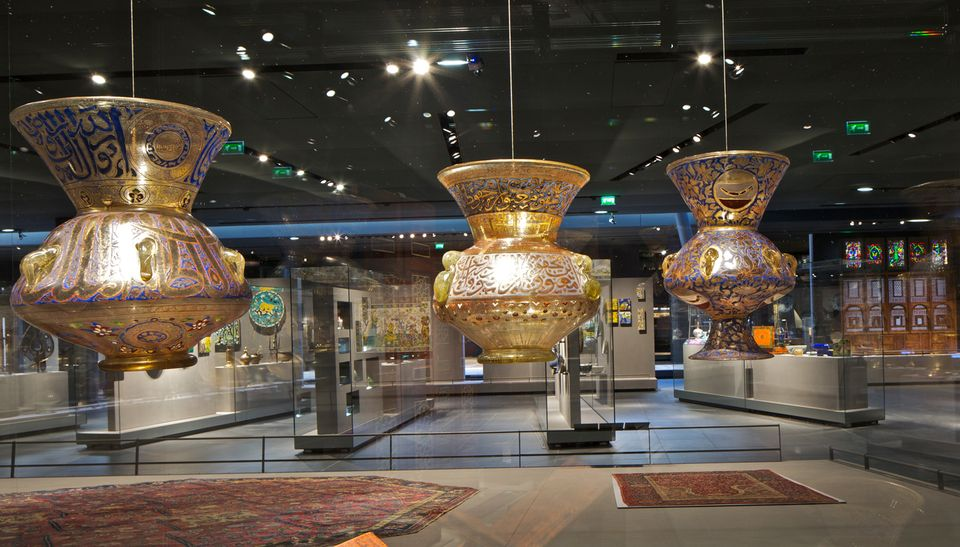 The department of Islamic Arts at the Musée du Louvre