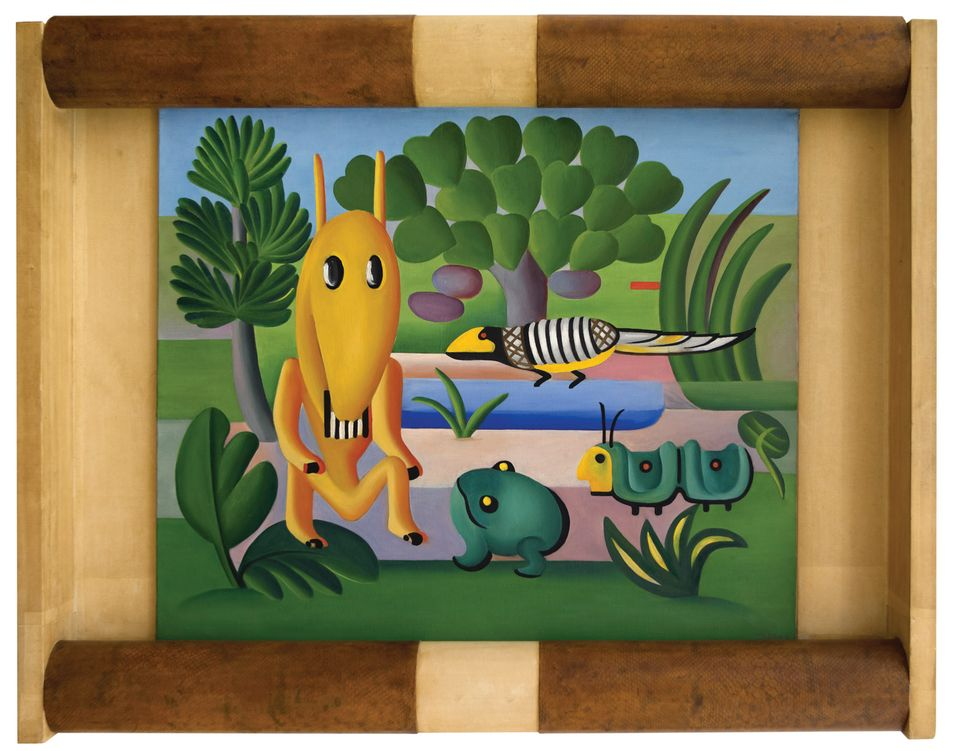 Tarsila do Amaral: A Cuca, 1924