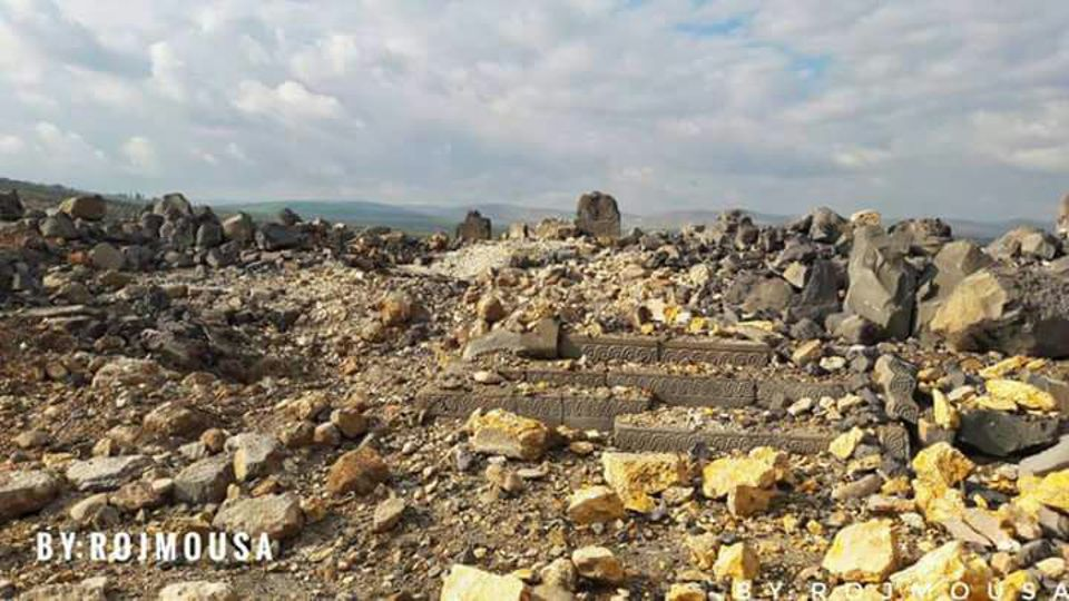 The Iron Age temple of Ain Dara in north-west Syria has been bombed by Turkish forces