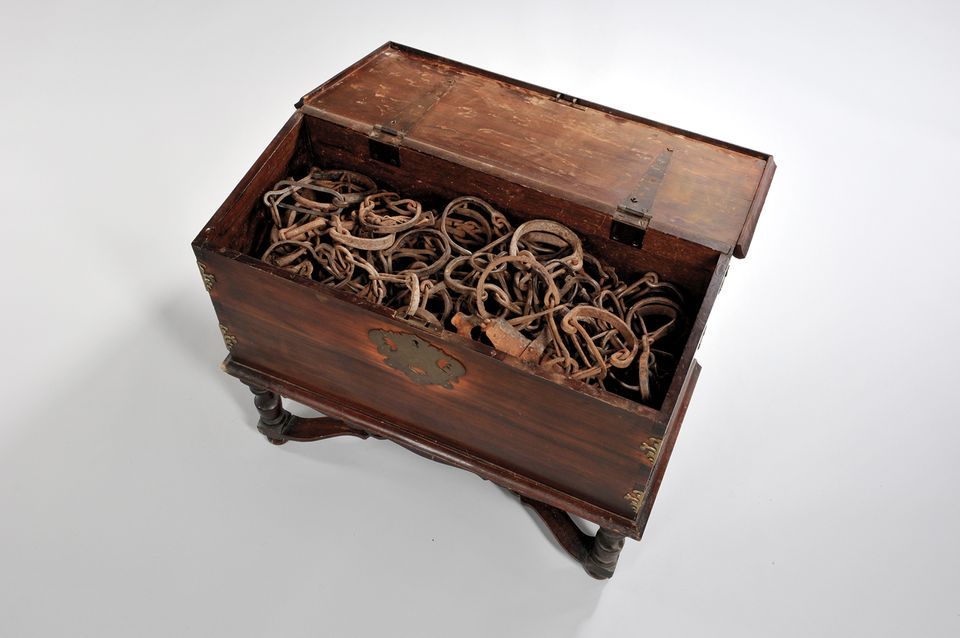 Chest of Shackles, West Africa, 17th-18th century