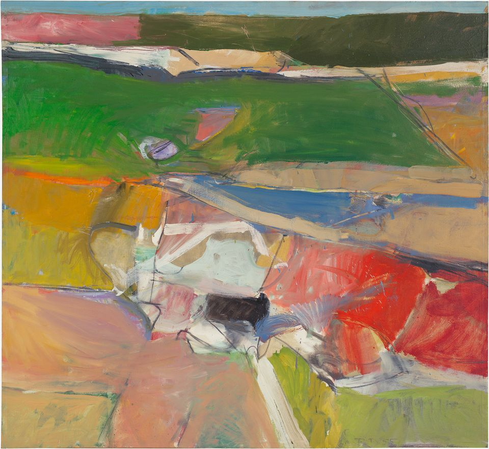 Richard Diebenkorn, Berkeley #44 (1955)