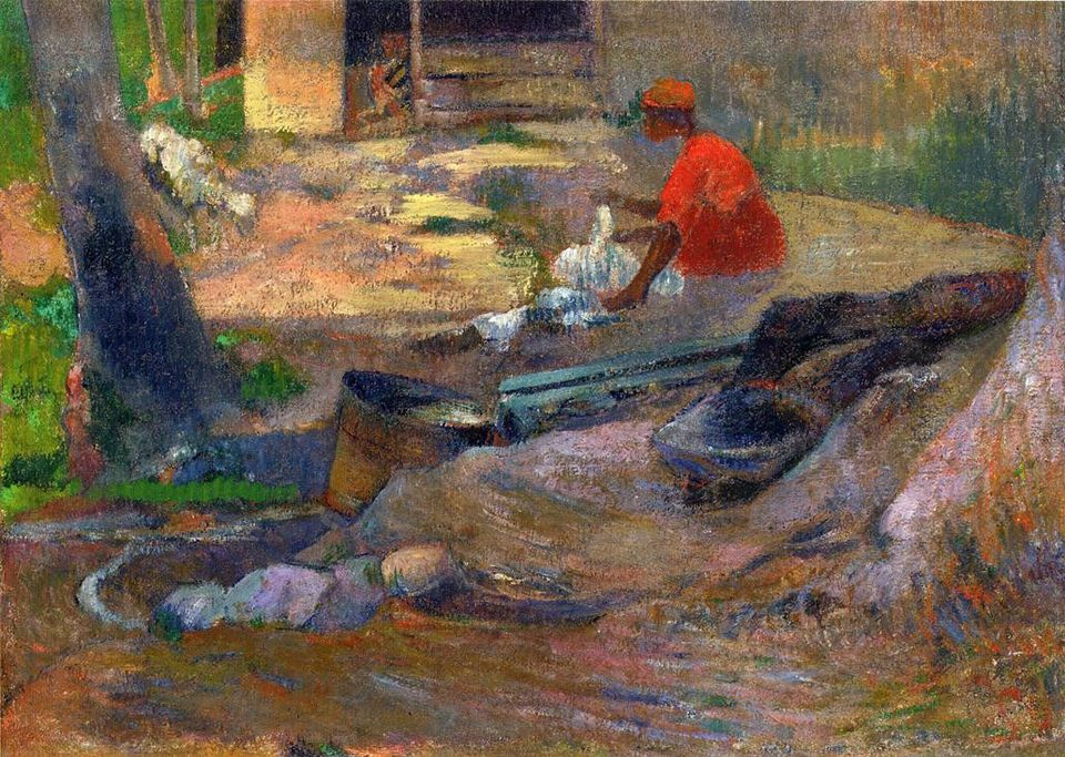 The final Gauguin being sought is A Little Washerwoman, which sold for £580,500 at Sotheby's in 2008.