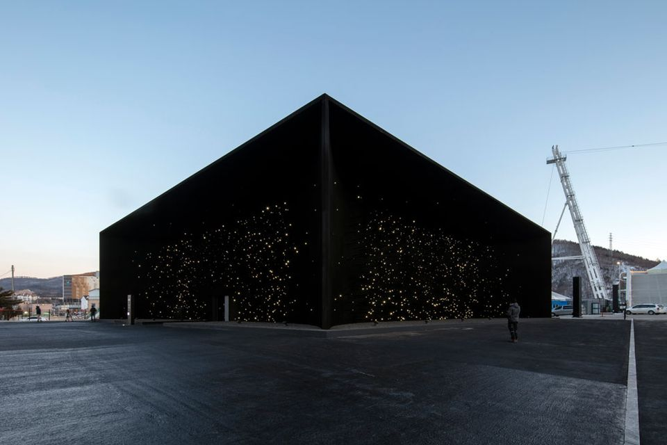 Asif Khan's pavilion for the 2018 Winter Olympics