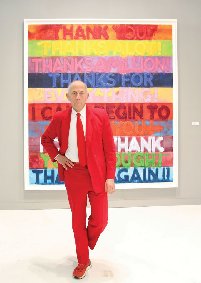 Artforum's former co-publisher Knight Landesman is accused of sexual harassment