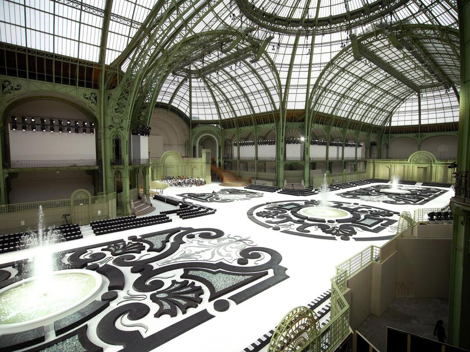 Chanel's Ready-to-Wear Autumn/Winter 2017-18 collection show at the Grand Palais