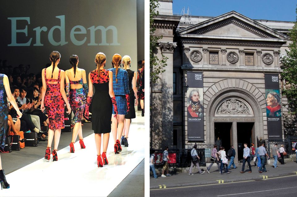 London's National Portrait Gallery will shut for a day to make way for Erdem's fashion show