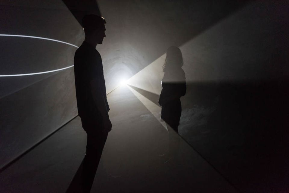 Anthony McCall: Solid Light Works, opening today in Hepworth Wakefield, is the artist's first major UK exhibition in over a decade, his last being a 2008 Serpentine Gallery show. The artist has been experimenting with solid light installations since his career began in the early 70s.
