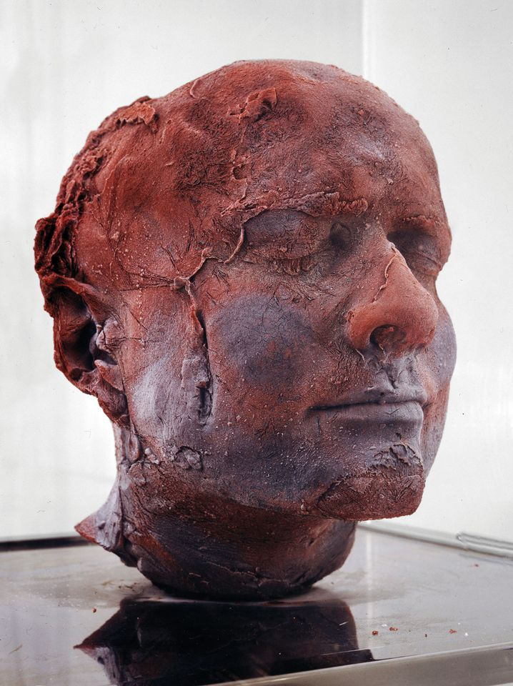 Marc Quinn, (British, born 1964) Self, 1991 Blood, Stainless Steel, Perspex, and Refrigeration Equipment 81 7/8 × 24 13/16 × 24 13/16 in. (208 × 63 × 63 cm) Private Collection
