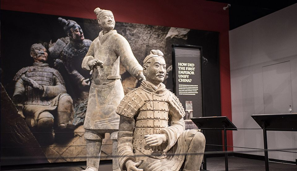 Terracotta Warriors of the First Emperor (until 4 March) at The Franklin Institute