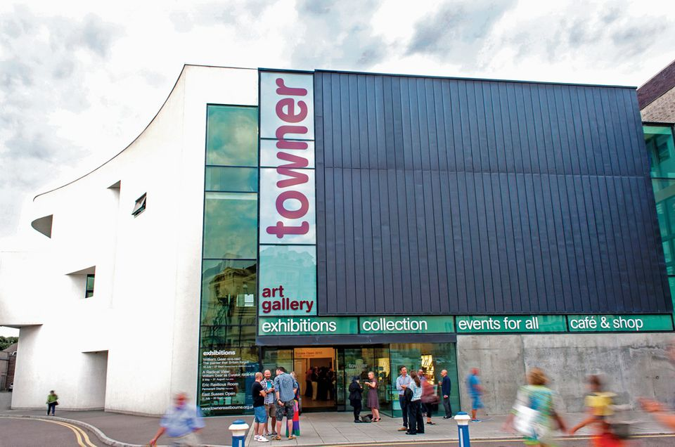 Towner Art Gallery is facing a 50% funding cut in the next four years