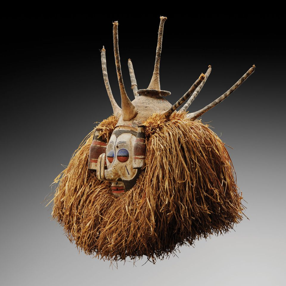 Didier Claes sold several Yaka masks (€10,000-€30,000) at Brafa, in Brussels, earlier this year