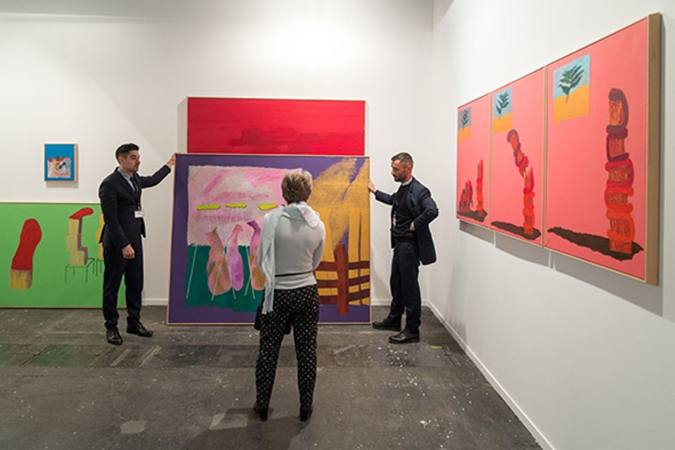 The Arco Madrid fair saw early sales to collectors from Latin America, Europe and Dubai