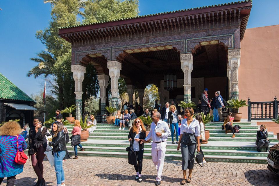 The first 1-54 Contemporary African Art Fair in Marrakech opened at La Mamounia hotel last week