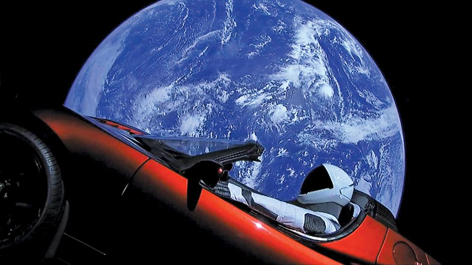 Space oddity: the Tesla sports car sent into space on Elon Musk's rocket