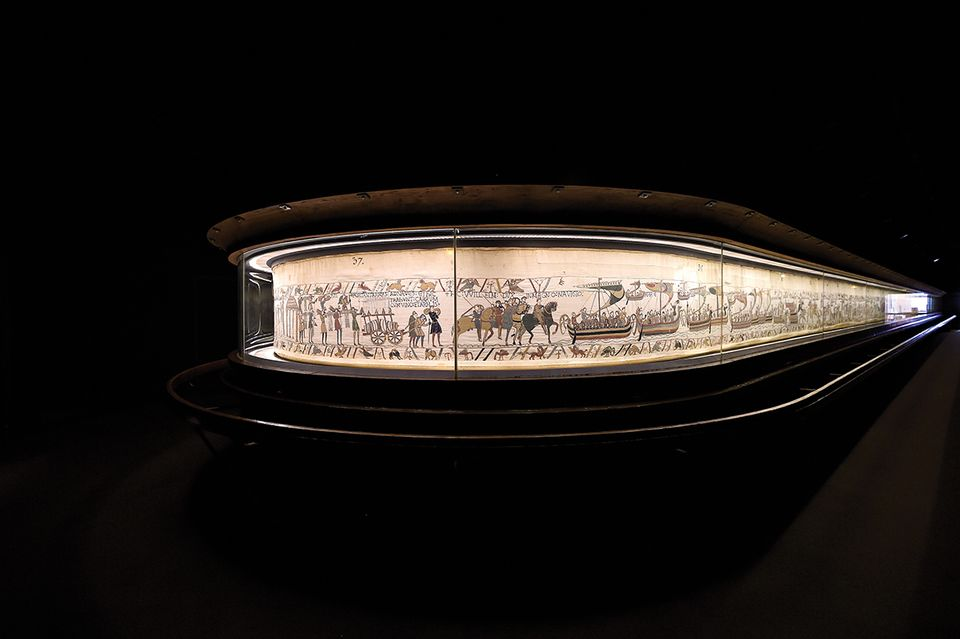 The Normandy museum will be refurbished while the Bayeux Tapestry is in the UK