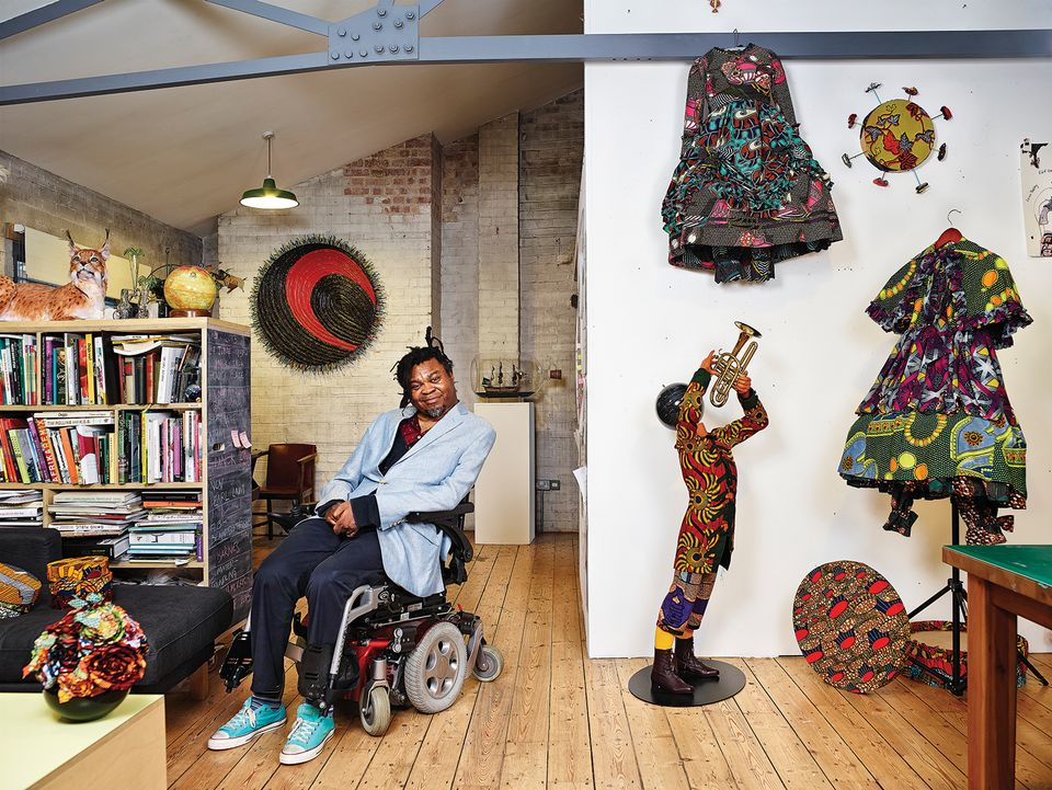 Yinka Shonibare: a change in the wind