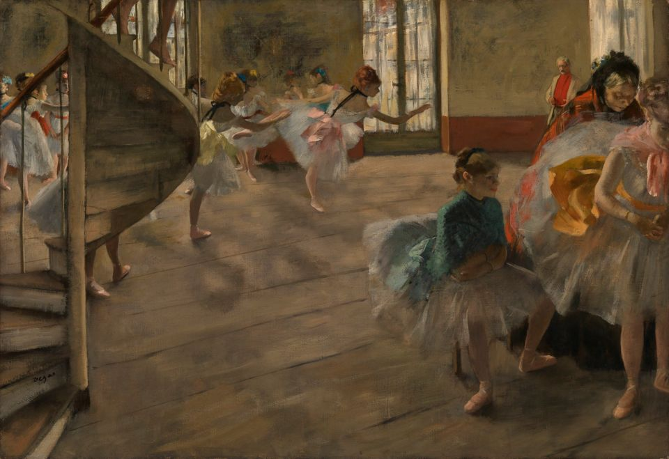 Edgar Degas, The Rehearsal (1874)