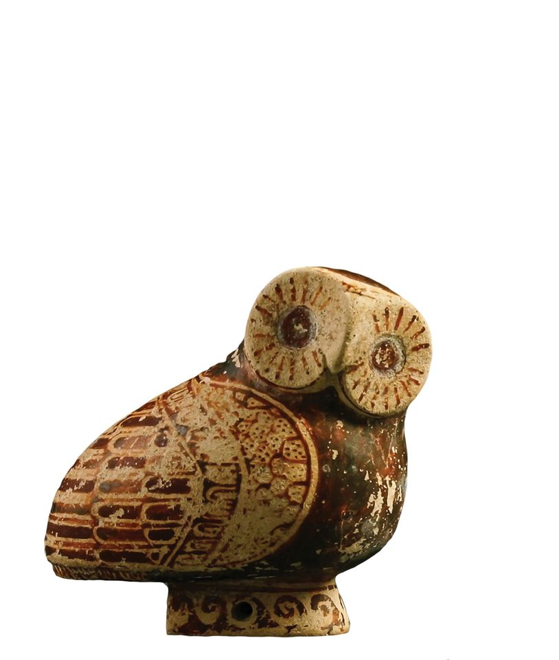 A Proto-Corinthian owl seized from the collector Michael Steinhardt