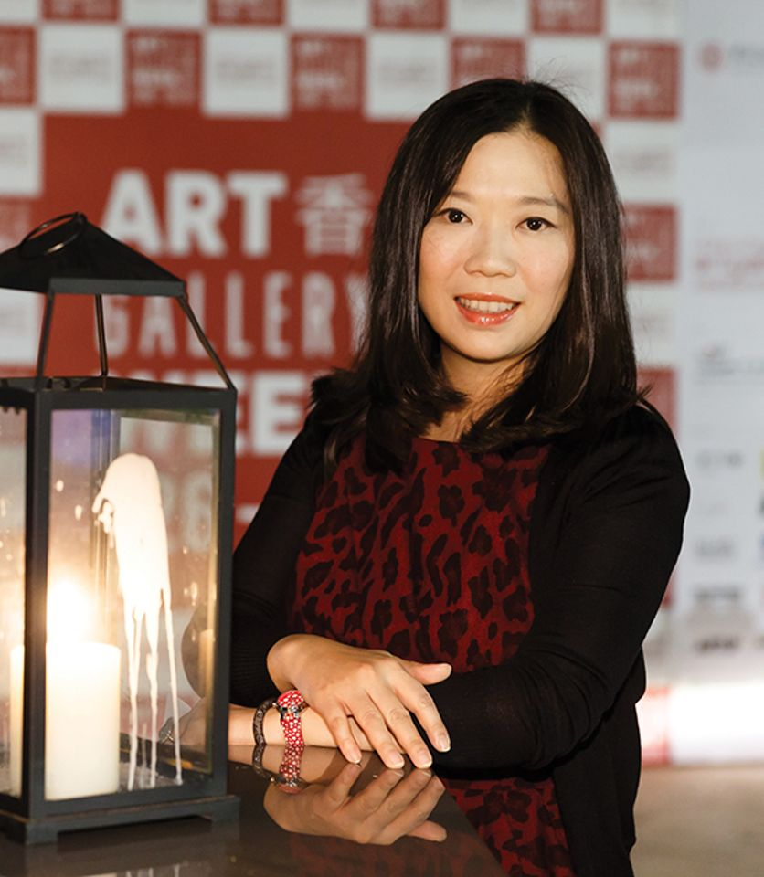 Henrietta Tsui-Leung, of Galerie Ora-Ora, which is moving to H Queen's