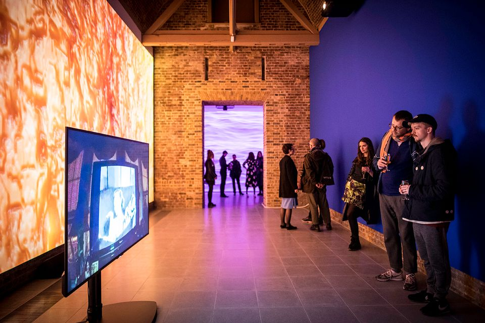 Sondra Perry: Typhoon Coming On at the Serpentine Sackler Gallery in London