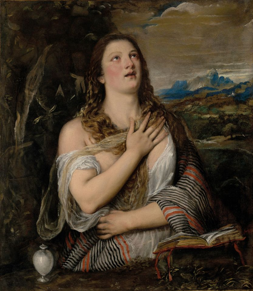 Titian, The Penitent Magdalene (155-65)