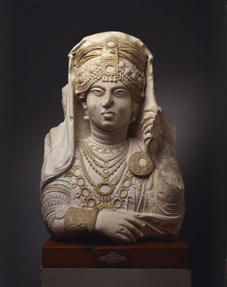 Painted lady: The Beauty of Palmyra (190-210)