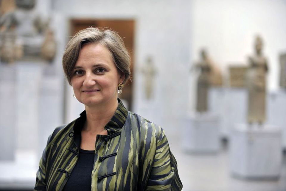 Sophie Makariou previously set up the Louvre's department of Islamic art