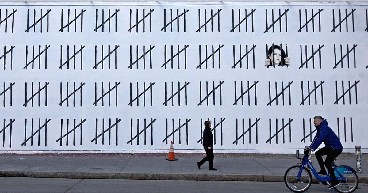 Banksy brings his street art social critique to New York