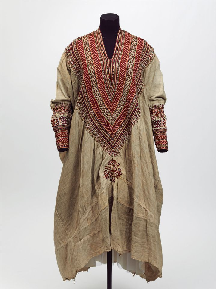 A dress that belonged to the emperor's wife