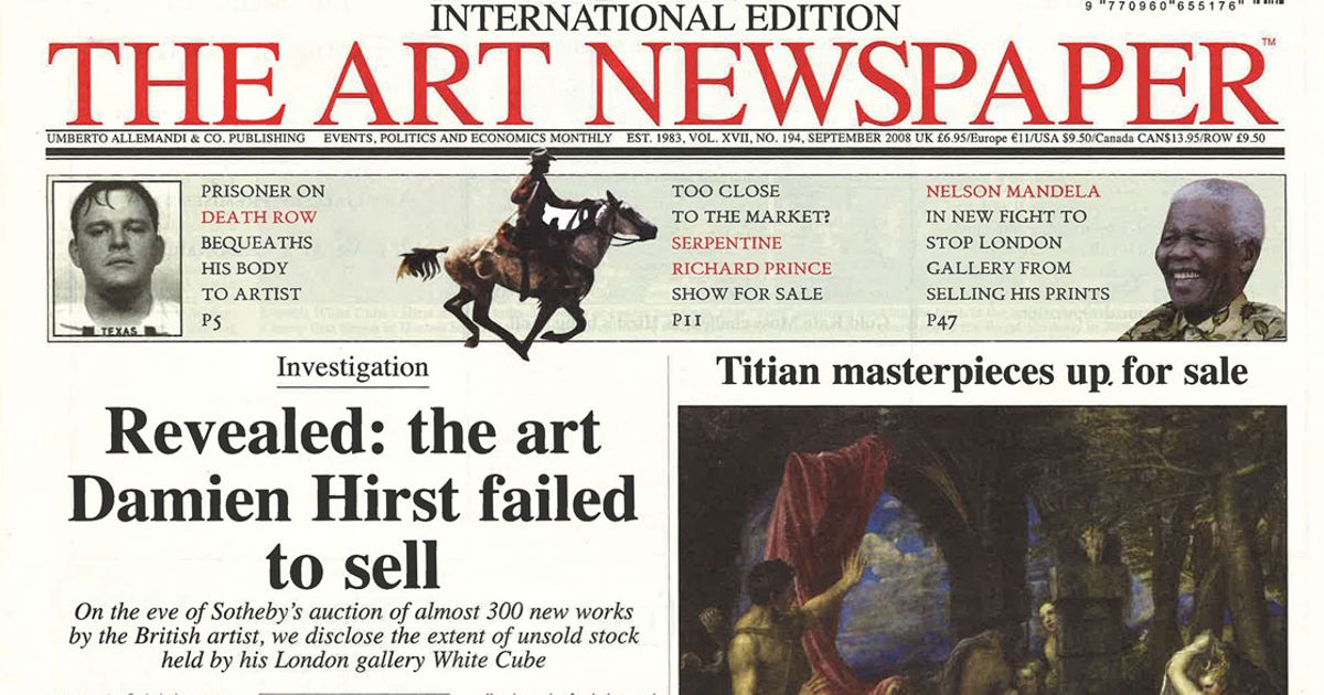 Then   Now  boom, bust and rebirth of Damien Hirst   The Art Newspaper 9a46ea97d54