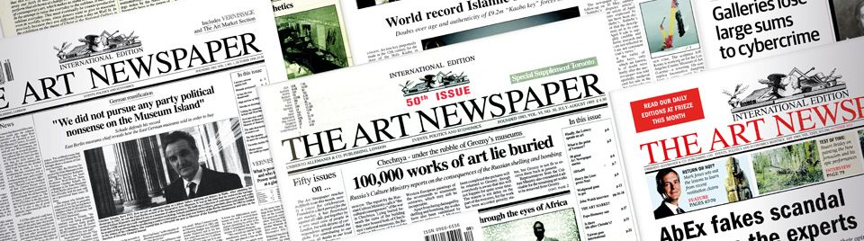 The Art Newspaper covers
