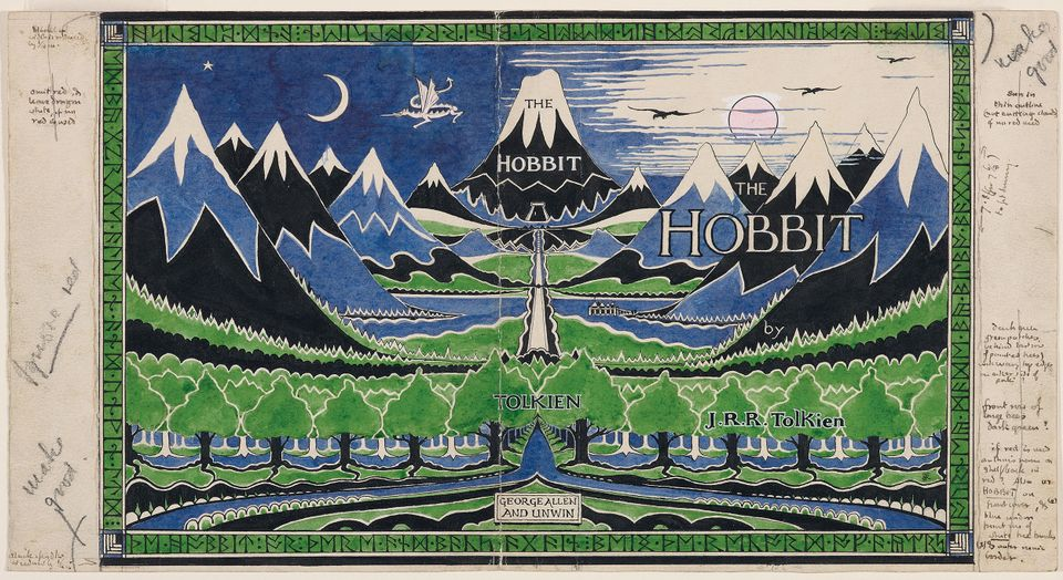 Dust jacket for The Hobbit