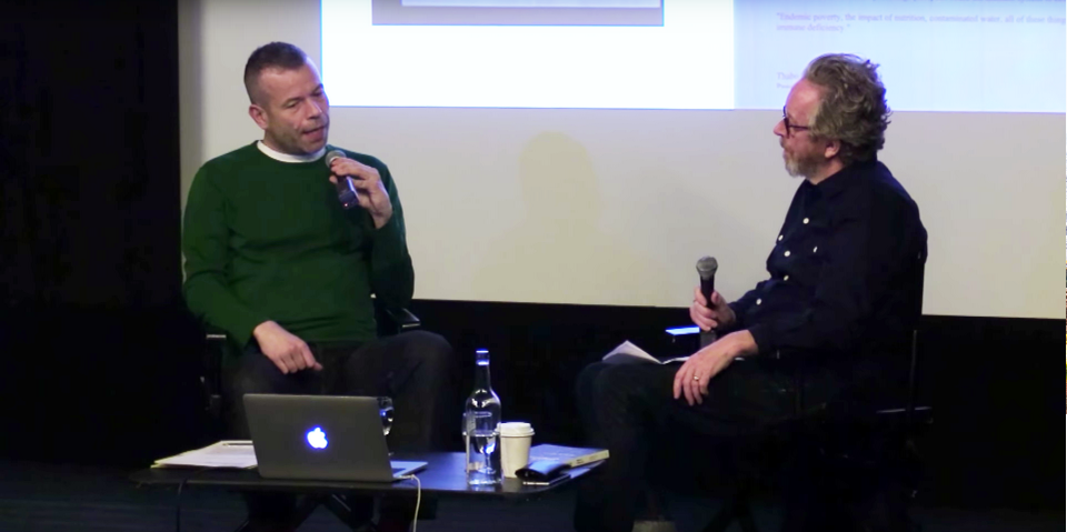 Wolfgang Tillmans in conversation with the writer and critic Sean O'Hagan  at London's ICA