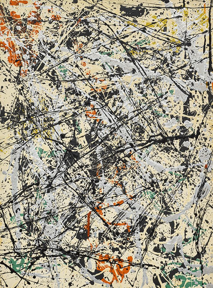 Jackson Pollock's Number 32, 1949, carries an estimate of $30m to $40m