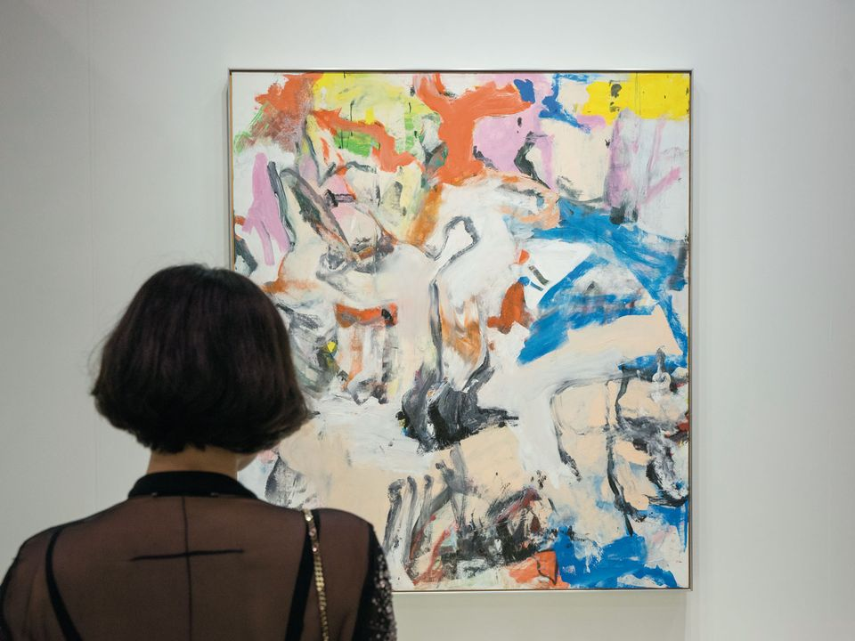 Willem de Kooning's Untitled XII (1975) sold for a $35m price tag at the fair