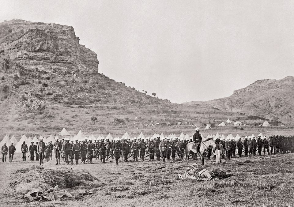 the British campaign in Ethiopia in 1868