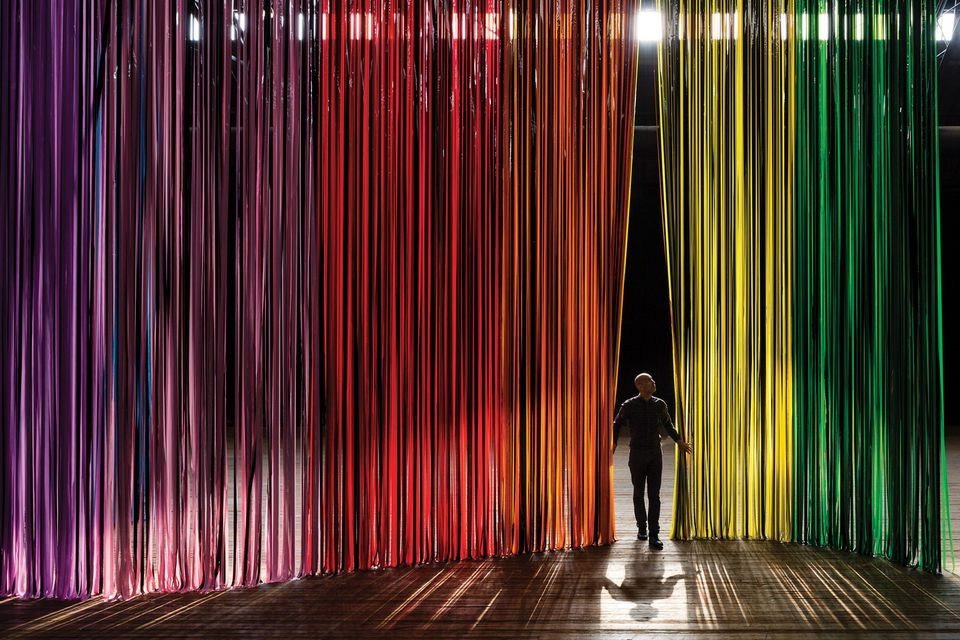 Curtain up: Nick Cave's installation The Let Go will take over the Park Avenue Armory's Drill Hall