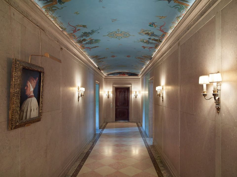 A second-floor corridor in the Frick Collection, New York that will soon be opened to the public