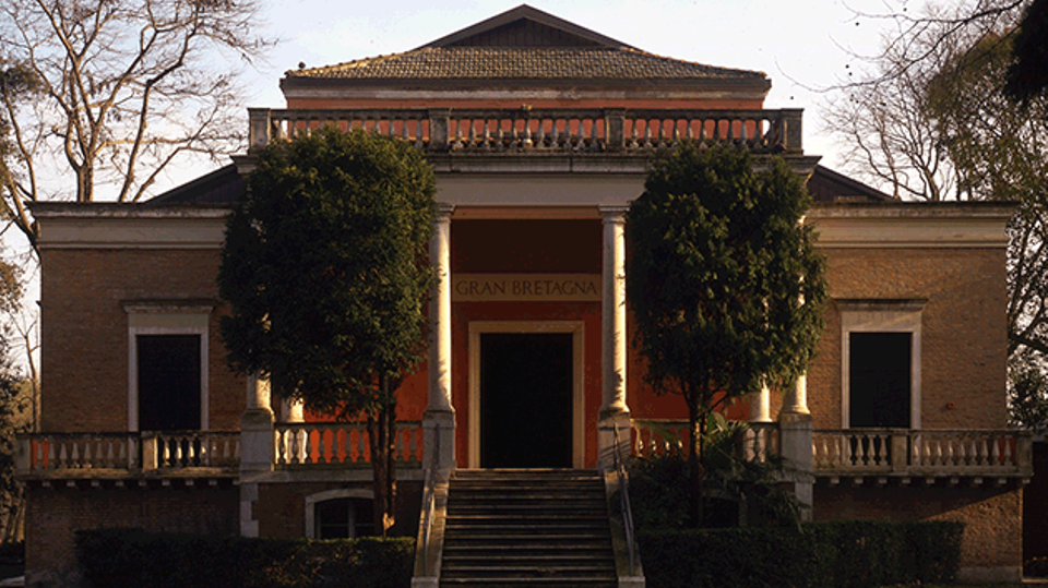 The British Pavilion in Venice