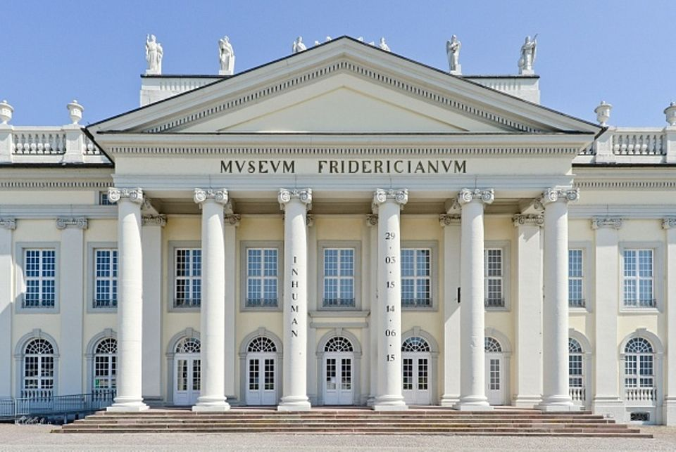 The Fridericianum is the main venue of Documenta