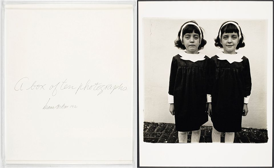 A portfolio of ten photographs by Diane Arbus from the Yamakawa collection set a new artist record, selling for $792,500 with fees at Christie's on 6 April